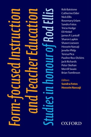 Form-Focused Instruction and Teacher Education - Oxford Applied Linguistics