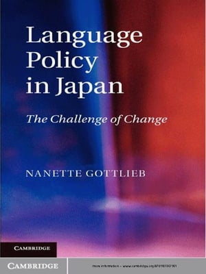 Language Policy in Japan The Challenge of Change