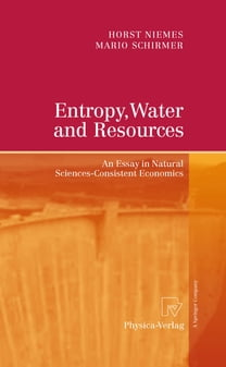 Entropy, Water and Resources