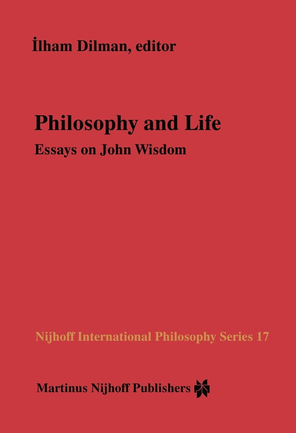 philosohy of life essay
