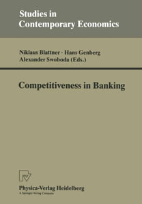 Competitiveness in Banking