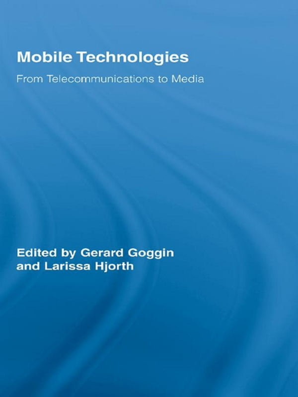 mobile technology dissertations Adoption of new technology cdma for mobile telephones real option in a thesis written in 1998, adela luque.