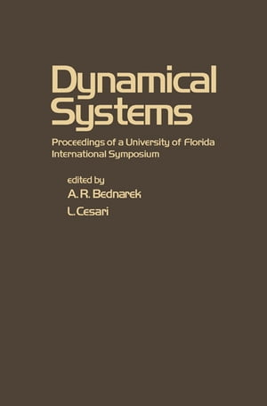 Dynamical Systems Proceedings of a University of Florida International Symposium