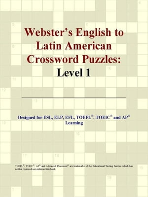 Webster's English to Latin American Crossword Puzzles: Level 1
