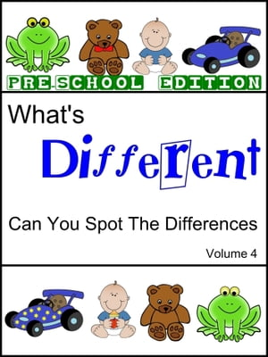What's Different (Pre School Edition) Volume 4