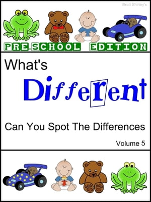 What's Different (Pre School Edition) Volume 5