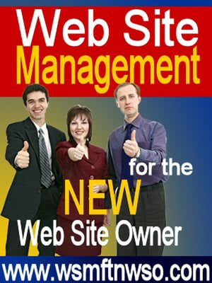 WebSite Management for the NEW Web Site Owner How to manage and create websites for beginners