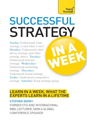 Strategy in a Week: Teach Yourself Ebook Epub