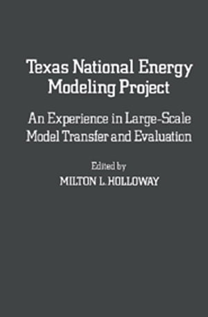 Texas National Energy Modeling Project An Experience in Large-Scale Model Transfer and Evaluation