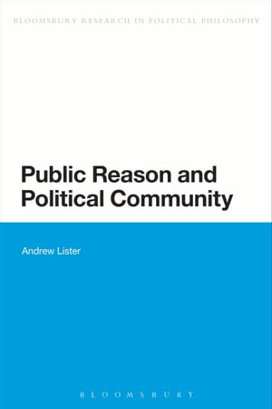 Public Reason and Political Community