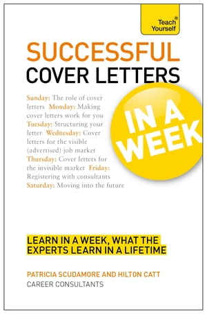 Cover Letters In A Week