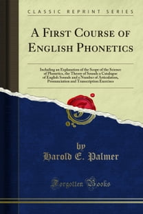 A First Course of English Phonetics