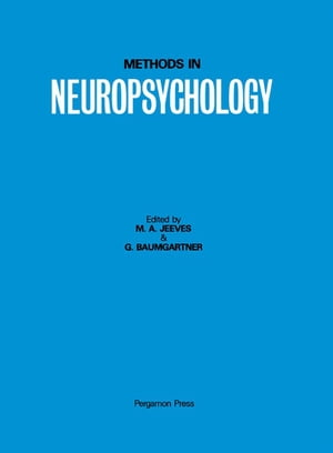 Methods in Neuropsychology