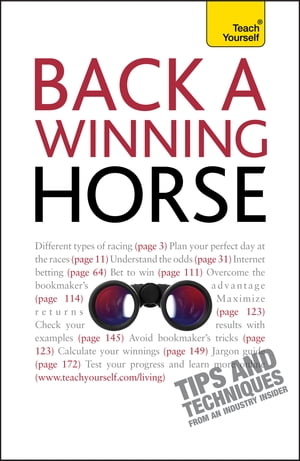 Back a Winning Horse: Teach Yourself