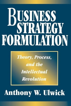 Business Stategy Formulation: Theory, Process, and Intellectual Revolution