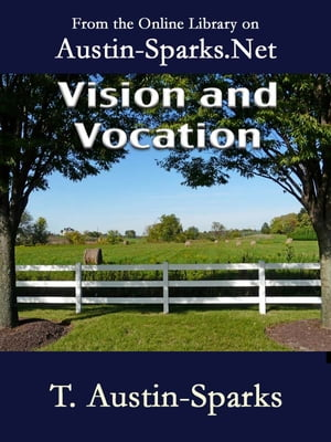 Vision and Vocation