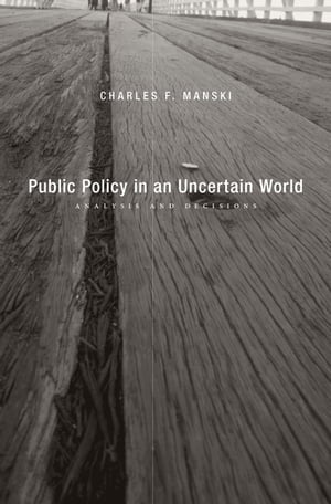 Public Policy in an Uncertain World Analysis and Decisions