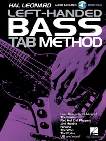 Hal Leonard Left-Handed Bass Tab Method - Book 1