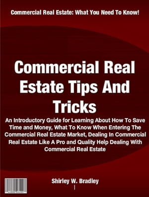 Commercial Real Estate Tips And Tricks