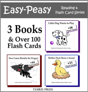 Collection 1 - 3 Easy Readers that are over 90% Sight Words! (Little Dog Wants to Play,  Here Comes Blackfly,  Mother Duck Hears a Sound) A Sight Word B