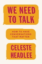 We Need to Talk Cover Image