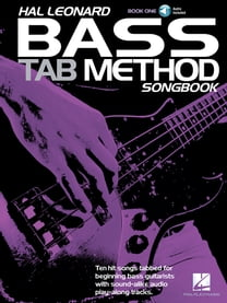 Hal Leonard Bass Tab Method Songbook 1