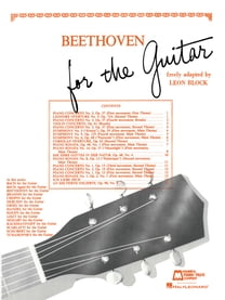 Beethoven for Guitar (Songbook)