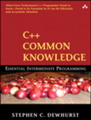 C++ Common Knowledge
