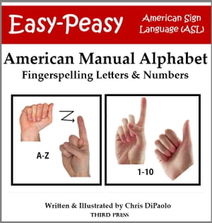 American Manual Alphabet: Fingerspelling Letters & Numbers