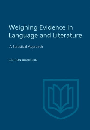 Weighting Evidence in Language and Literature