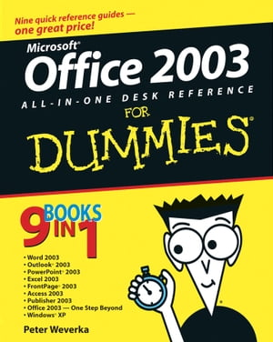 Office�2003 All-in-One Desk Reference For Dummies