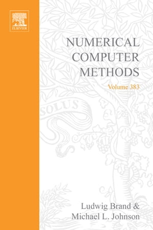 Numerical Computer Methods,  Part D
