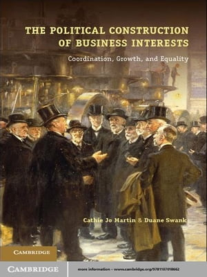 The Political Construction of Business Interests Coordination,  Growth,  and Equality