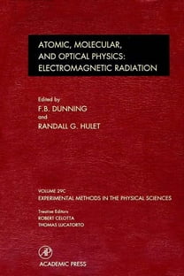 Electromagnetic Radiation: Atomic, Molecular, and Optical Physics