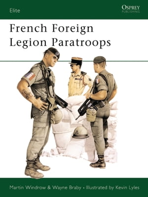 French Foreign Legion Paratroops