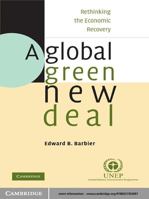 A Global Green New Deal Rethinking the Economic Recovery