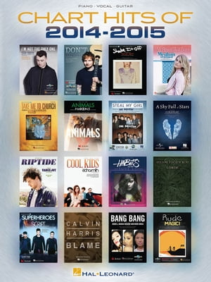 Chart Hits of 2014-2015 Songbook