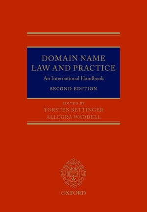 Domain Name Law and Practice An International Handbook