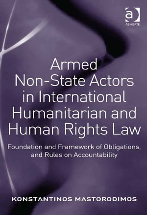 Armed Non-State Actors in International Humanitarian and Human Rights Law Foundation and Framework of Obligations,  and Rules on Accountability