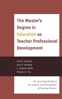 The Master's Degree in Education as Teacher Professional Development