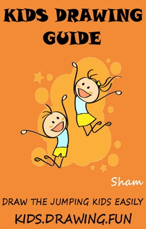Kids Drawing Guide: Draw The Jumping Kids Easily