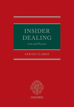 Insider Dealing: Law and Practice