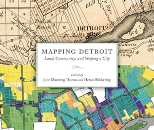 Mapping Detroit Land,  Community,  and Shaping a City