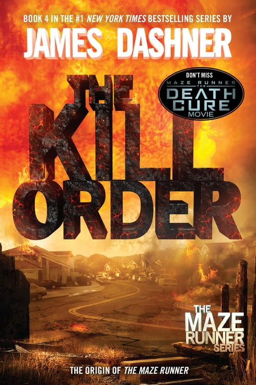Book Cover Returns To Its Origins In >> The Kill Order Maze Runner Book Four Origin D R Kultur