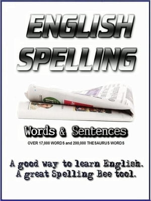 English Spelling - Words and Sentences