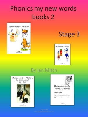 Phonics My New Words Books 2