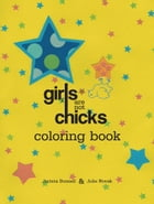 Girls Are Not Chicks Coloring Book Cover Image