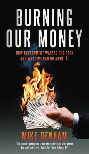 Burning Our Money How Government wastes our cash and what we can do about it