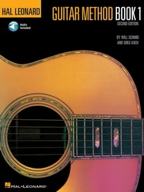 Hal Leonard Guitar Method Book 1 with Audio