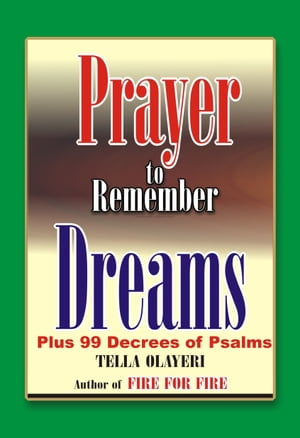 Prayer to Remember Dreams
